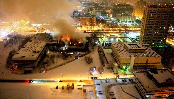 пожар в инион2