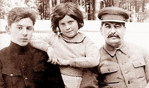 сталин отец