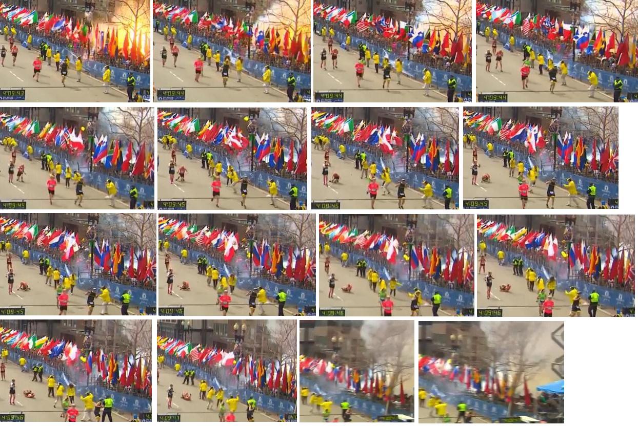 Двойной взрыв на марафоне в Бостоне  есть погибшие_009_00a0