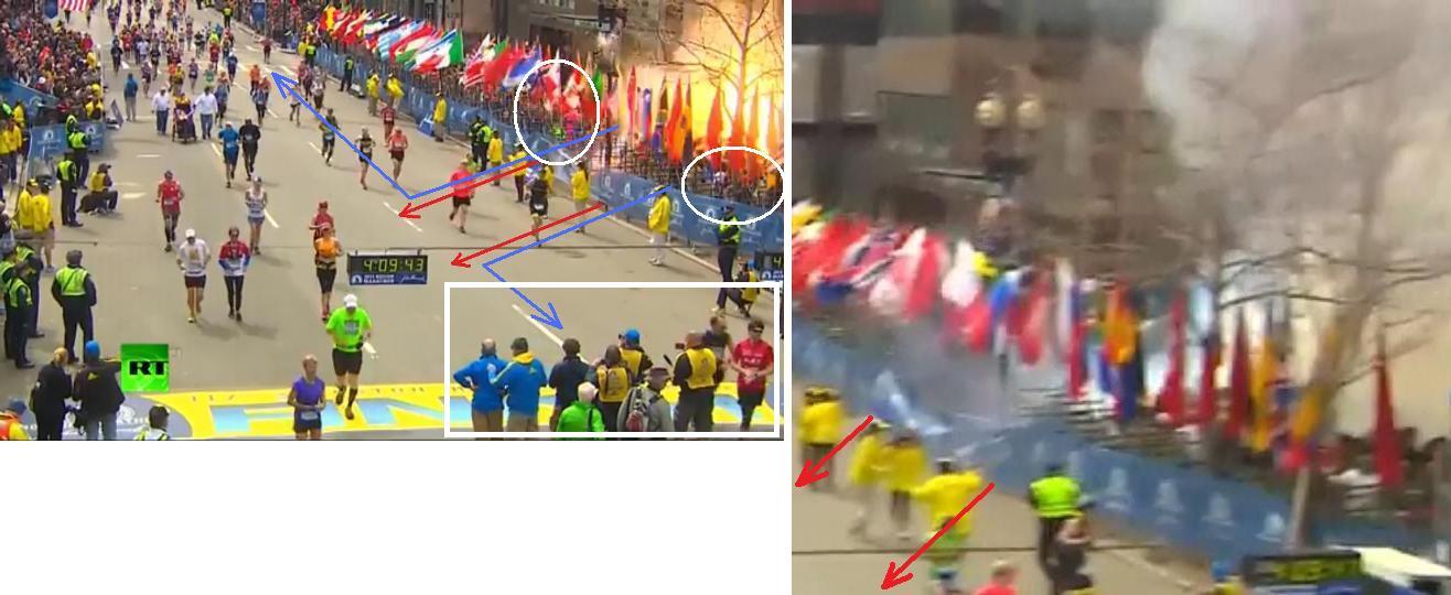 Двойной взрыв на марафоне в Бостоне  есть погибшие_009_0a