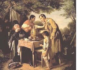 1 Перов_Чаепитие в мытищах 1862
