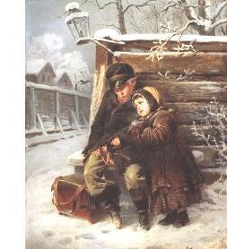 3 Владимир Маковский_ Маленькие шарманщики 1868