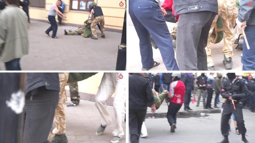 2 мая Одесса, вооруженные столкновения12a0