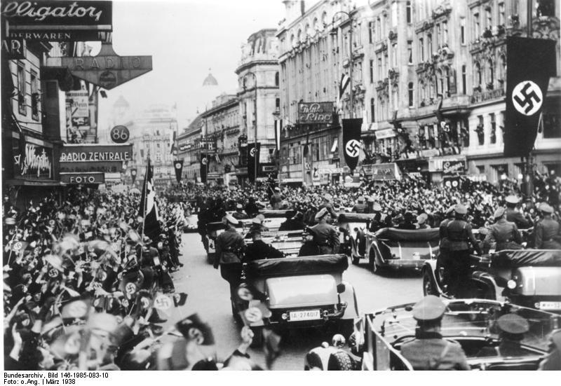 Anschluss-Вена1938