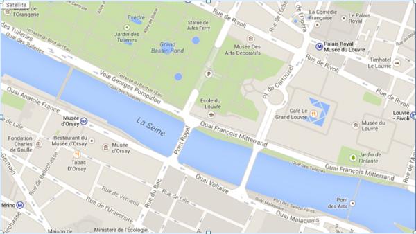 путь от Лувра до музея дОрсэ