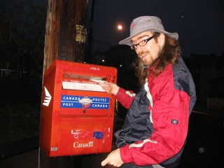 tiny mailbox!