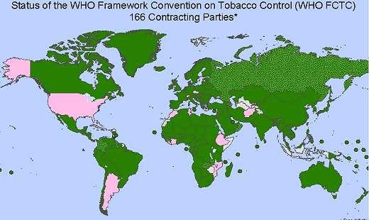 FCTC map