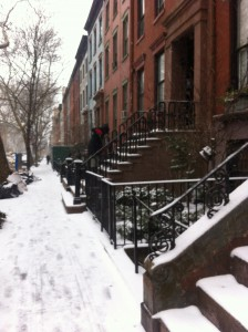 Cobble Hill townhouses