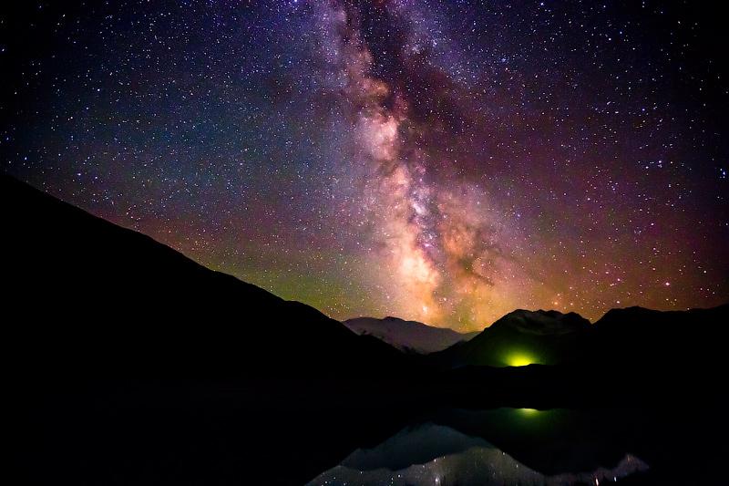 Звездное небо глазами Дениса Французова