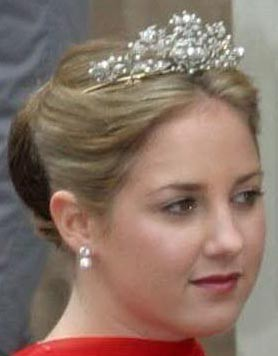 Antique Corsage Tiara (1964) Q Victoria of Sweden, tiara for Q Anne Marie here P Theodora 3