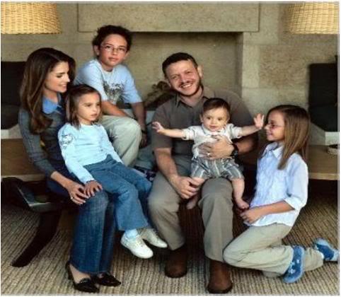 ABDULLAH-JORDAN-FAMILY