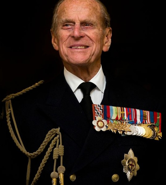 Prince Philip, Duke of Edinburgh smiles during a visit to the Admiralty Board and Admiralty House on 23 November, 2011-1258950