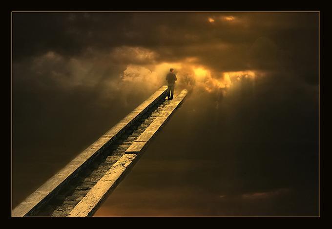 из страха в любовь, из себя наружу, снизу вверх