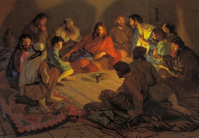 Тайное вечере евангеле от луки