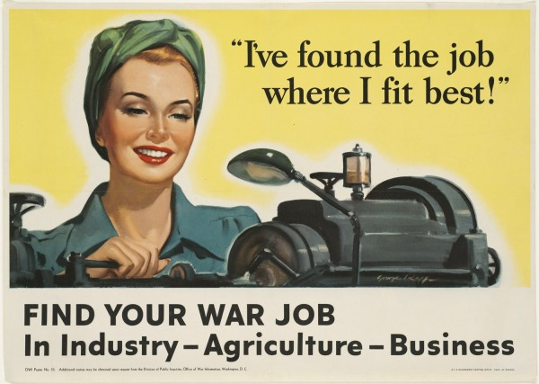 Job I fit poster