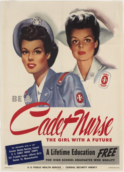 Patriotic-Poster-WWI-Recruiting_Nurse_2