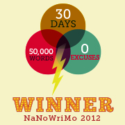 Nanowrimo Winner Thing