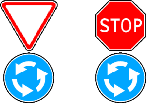 знак 4 3 в сочетании со знаком 2 4 или 2 5