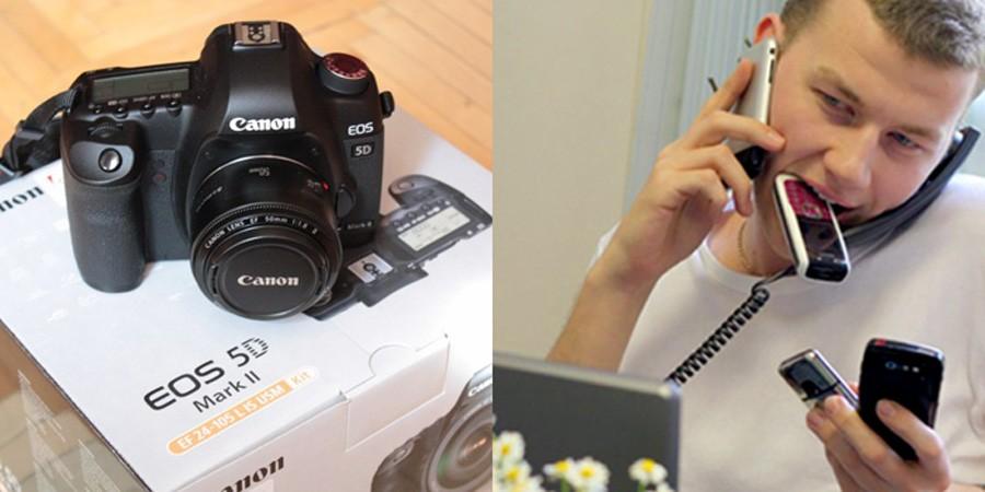Canon-5D и док