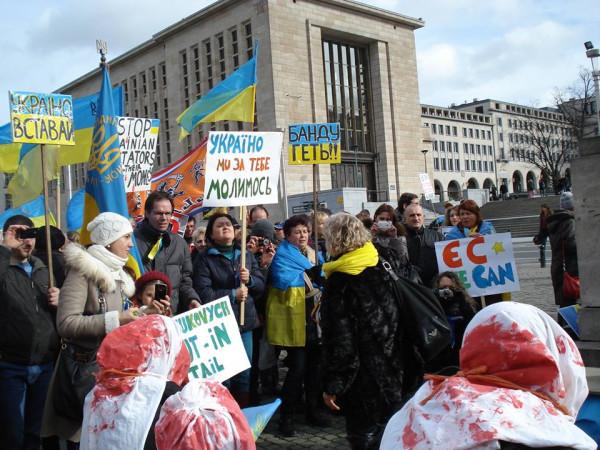 протест_Брюссель_15_февраль