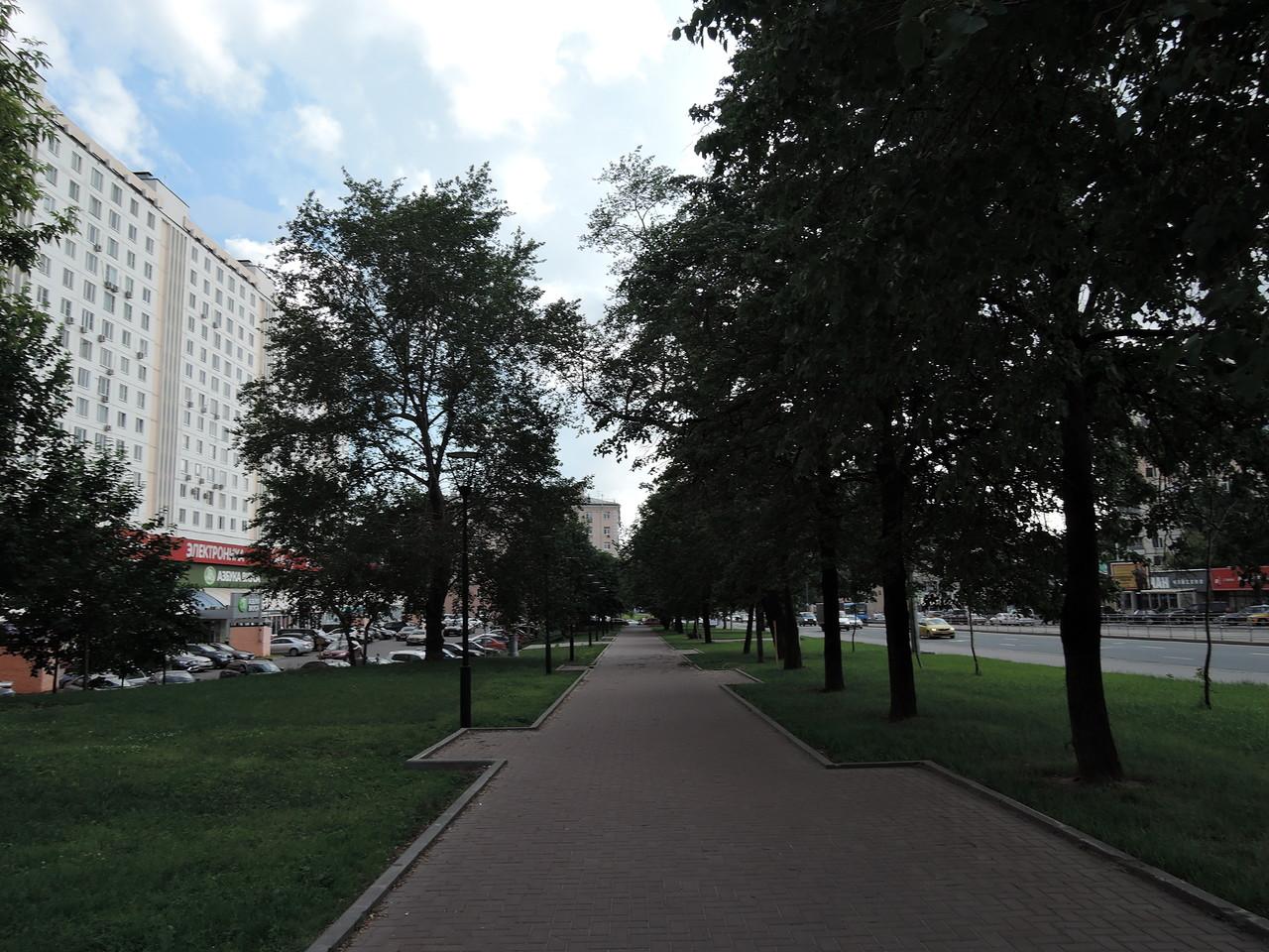 Сокольники. Русаковская улица.