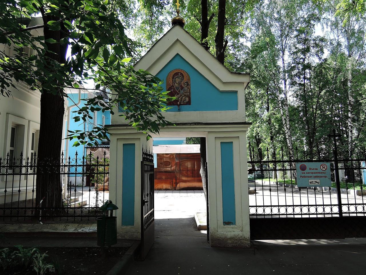 Храм казанской-песчанской иконы Божьей Матери в Измайлово
