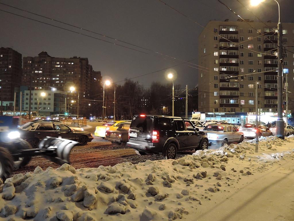 Уральская улица. Круг.