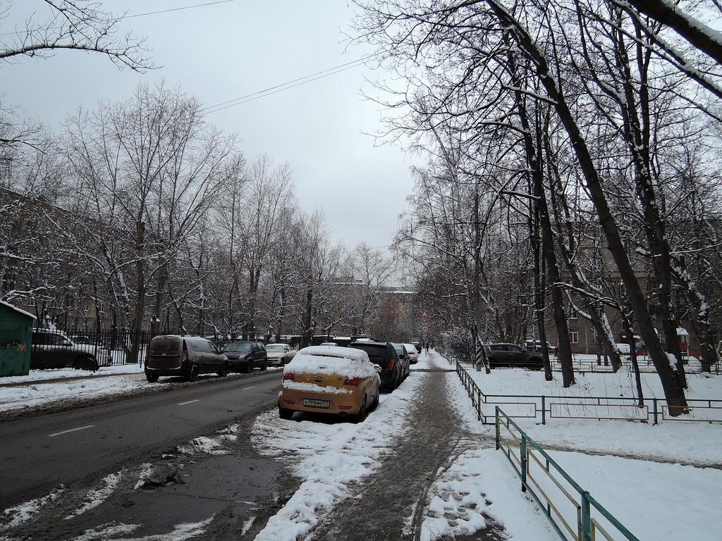 Московская улочка
