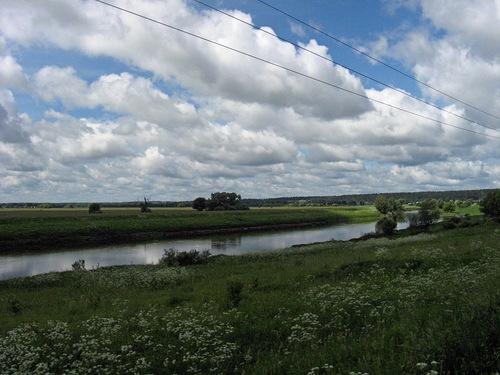 Река Москва село Ягунино