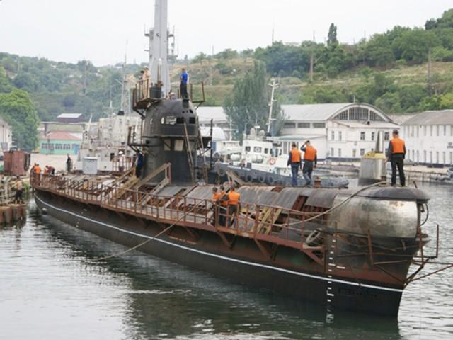 подводная лодка украины запорожье 2014