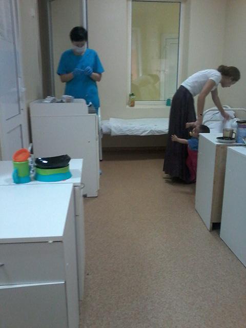 Приёмное отделение роддом на бекешской