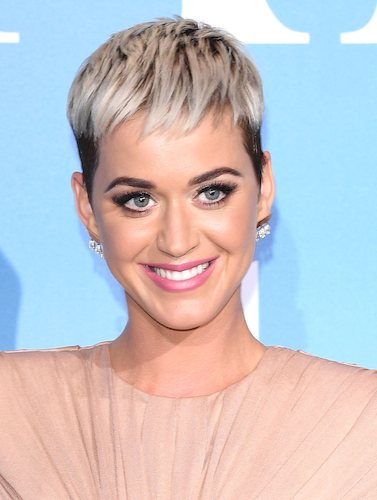 Katy Perrys Hairstylist Defends Her Blonde Pixie Cut Ohnotheydidnt