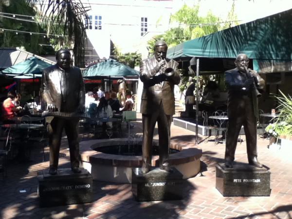 7.  Jazz Statues