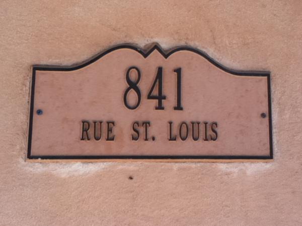 10.  Rue St. Louis