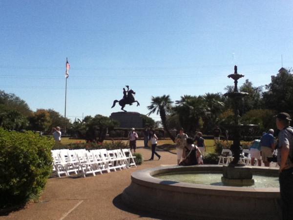 28.  Jackson Statue