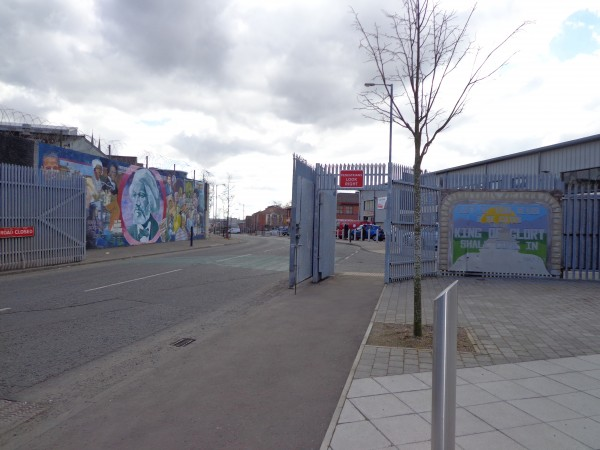 10.  Checkpoint with Murals