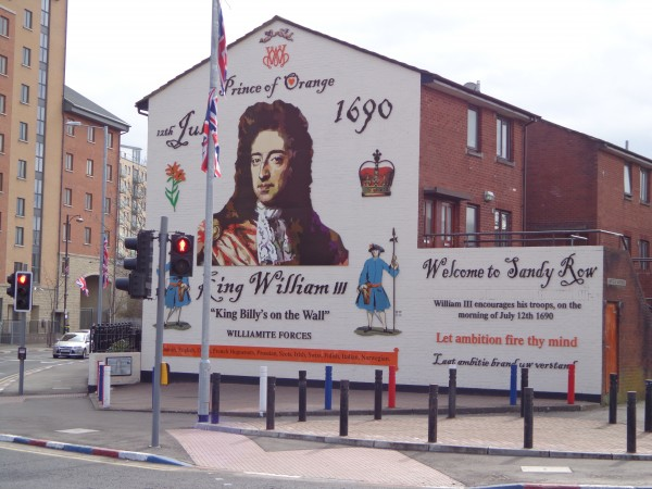 14.  William of Orange Mural