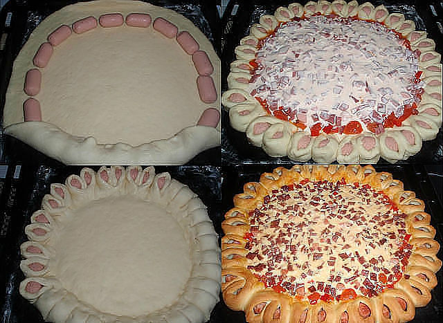 пицца-солнышко