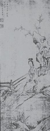 Девушка, играющая на нефритовой флейте