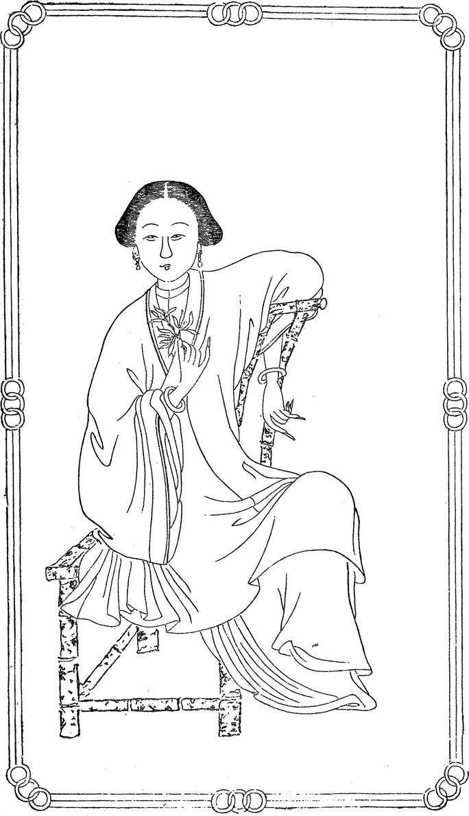 Портрет Ма Шоучжэнь (Ма Сянлань)