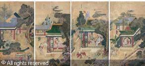4 рисунка Фан Вэйи