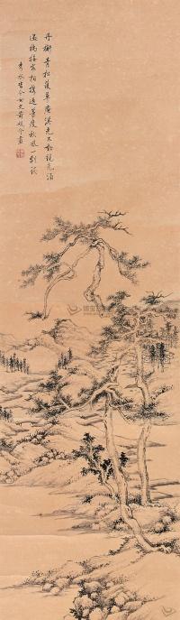 Хуан Юаньцзе. Пейзаж