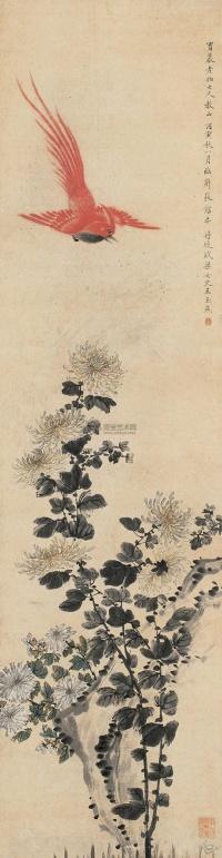 Феникс и хризантемы