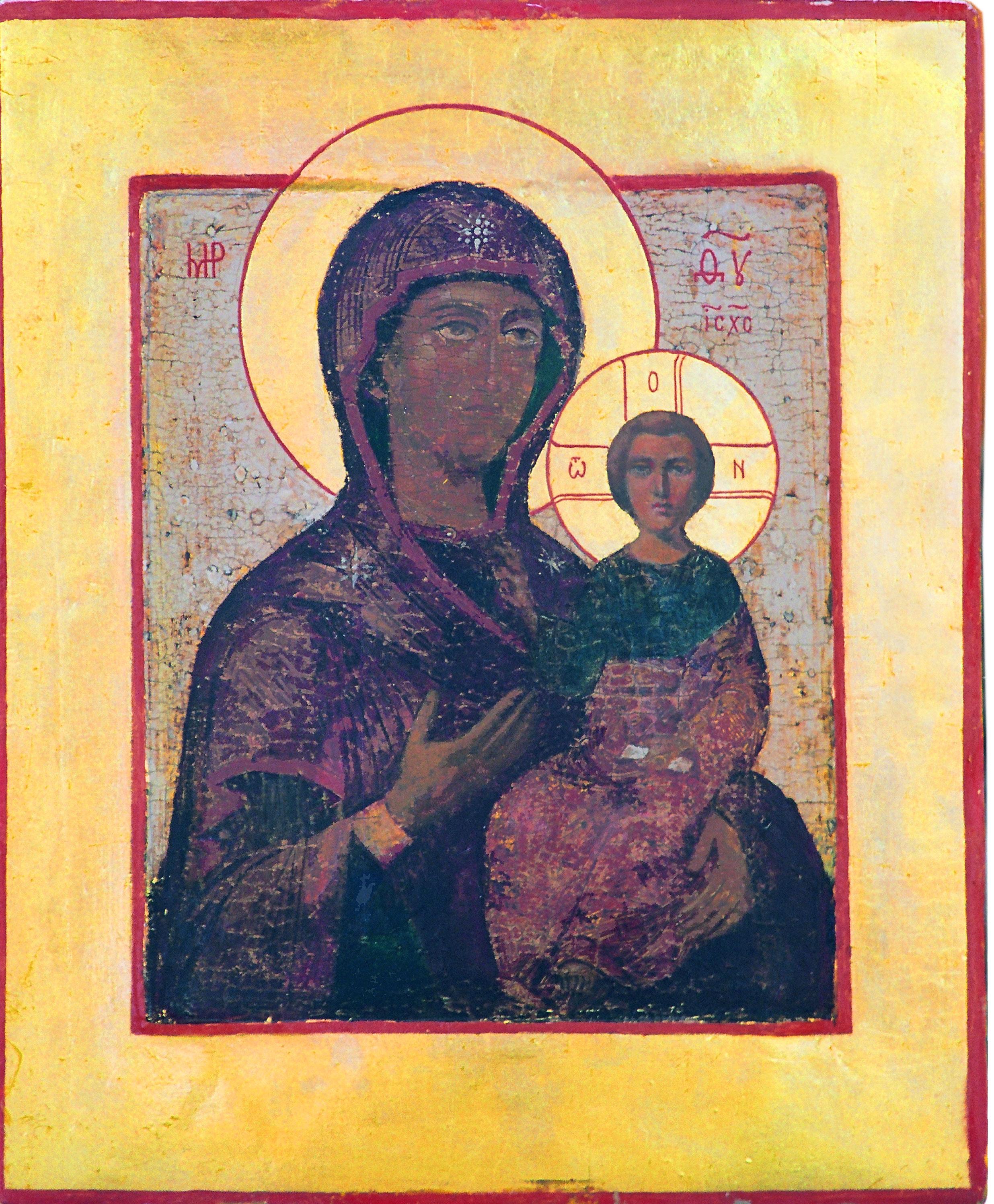 икона Б. М. Смоленская