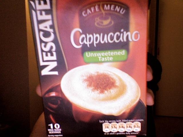 nescafé cappuccino