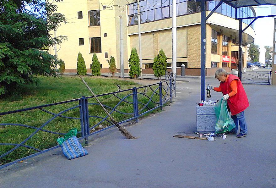 Таганрог мусор уборка ТБО Градсервис Артем Екушевский