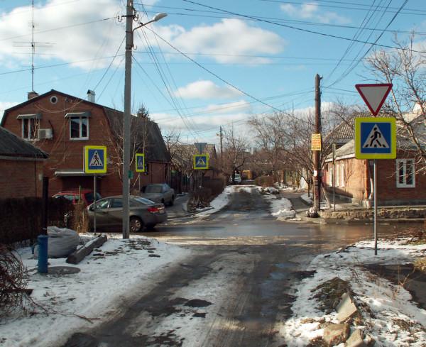 таганрог дороги ремонт благоустройство автомобильное движение пешеходы дорожные знаки