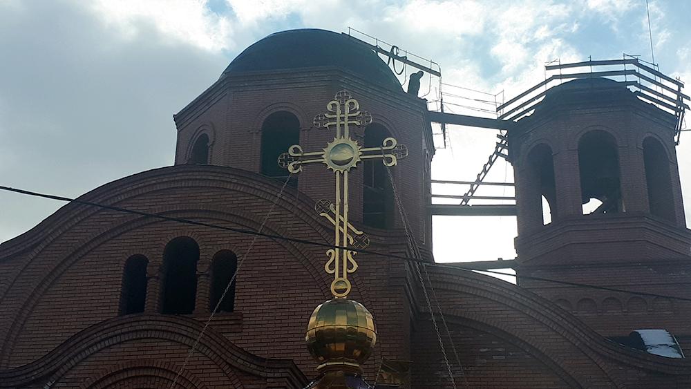 таганрог благочиние храм георгия победоносца строительство Алексей Лысиков