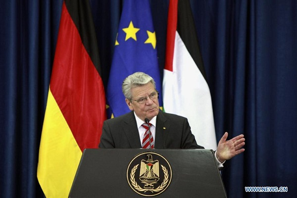 Президент Германии считает, что русские должны покаяться за победу в Великой Отечественной войне