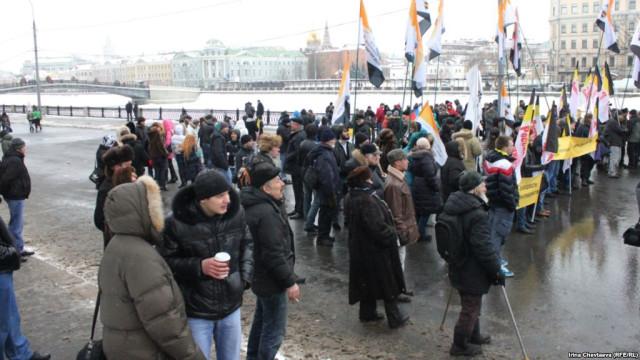 митинг 23 февраля на Болотной площади Российский общенародный союз Бабурин националисты